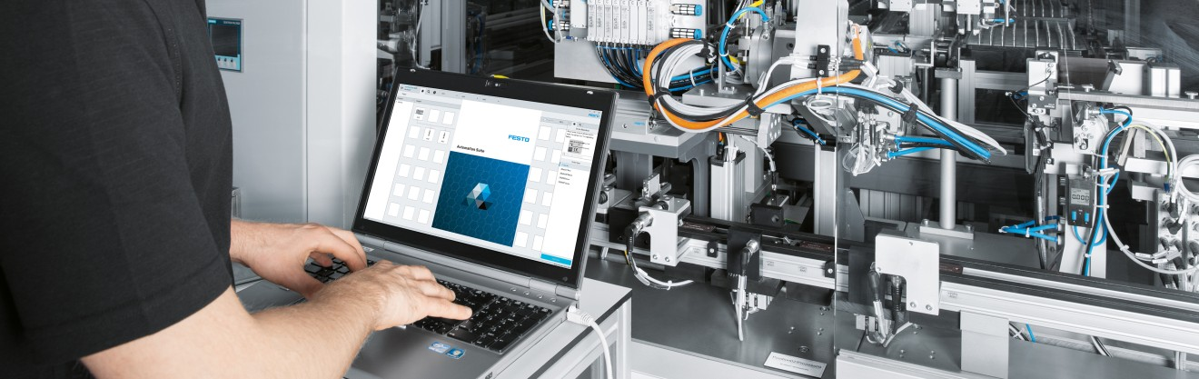 Digitalisation of production: Automation Suite