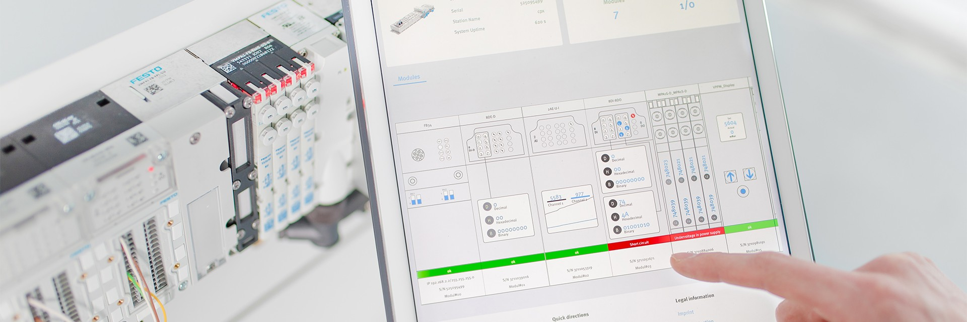 Cloud Services: Festo Dashboards