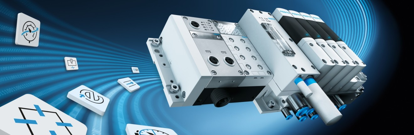 Digitalisation of production: Festo Motion Terminal