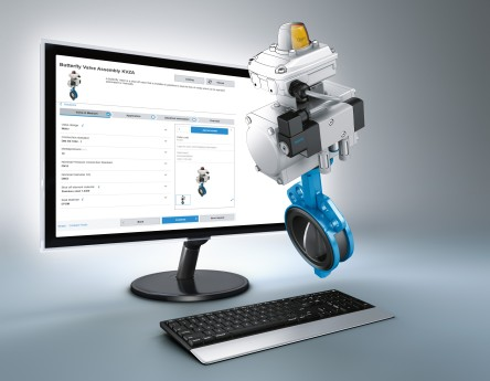 Engineering tools for factory automation: configurator for process valve units